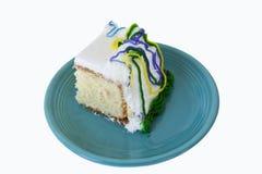 cake dekorerat stycke Arkivfoto