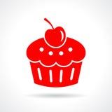 Cake dessert icon Royalty Free Stock Photo