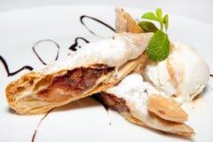 Cake, dessert, mousse, cakes, buffet, ice cream, Royalty Free Stock Photos