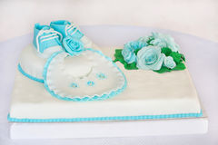 Cake for baby Royalty Free Stock Images
