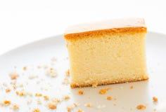 Cake on dish Stock Photography