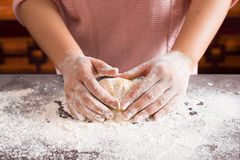 Cake dough Royalty Free Stock Photography