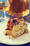 Cake with dry fruits Royalty Free Stock Photos