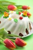 cake easter Arkivbild