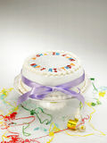 Cake en cakestand Stock Afbeelding