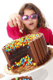 Cake eyes Royalty Free Stock Images