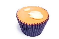 Cake för Teakopp Arkivfoto