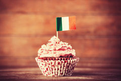 Cake with flag. Royalty Free Stock Photo