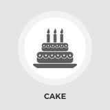 Cake flat icon Royalty Free Stock Photo