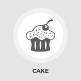 Cake flat icon Stock Photos