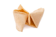 Cake fortune cookie Stock Images