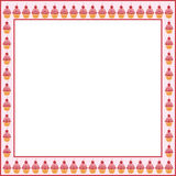 Cake frame Royalty Free Stock Images