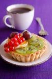 Cake with fruit Royalty Free Stock Photos