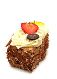 Cake with fruits Royalty Free Stock Image