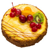 Cake with fruits Royalty Free Stock Photos