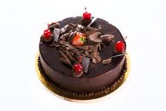 Cake Gelukkige Verjaardag Stock Foto's