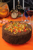 Cake for Halloween Royalty Free Stock Photo