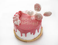 Cake Happy birthday Royalty Free Stock Photos