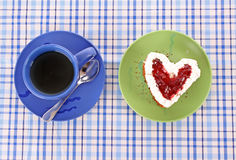 Cake heart Stock Photo