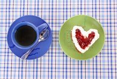 Cake heart Stock Photo