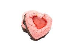 Cake heart Royalty Free Stock Photography
