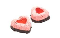 Cake heart Royalty Free Stock Photo