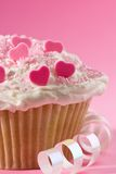 Cake Of Hearts Royalty Free Stock Photo