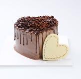 Cake, Ice-cream cake on background Royalty Free Stock Photo
