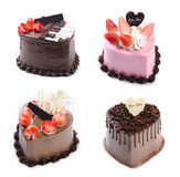 Cake, Ice-cream cake on background Royalty Free Stock Image