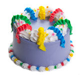 Cake. ice cream cake on background Stock Photography