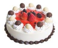 Cake. ice cream cake on background Royalty Free Stock Photos