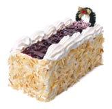 Cake, Ice-cream cake on background Stock Photos