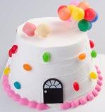 Cake, Ice-cream cake on background Stock Photography