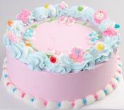 Cake, Ice-cream cake on background Royalty Free Stock Photography
