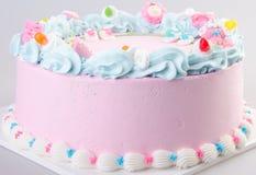 Cake, Ice-cream cake on background Stock Photo