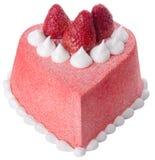 Cake, Ice-cream cake on background Stock Image