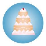 Cake Icon 1 Stock Image