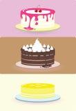 Cake illustration/ Royalty Free Stock Photos