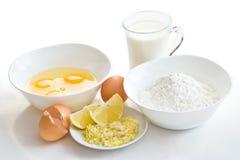 Cake ingredients Royalty Free Stock Photo