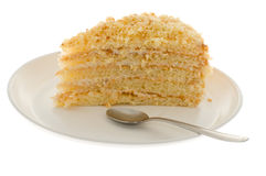 Cake isolated Stock Image