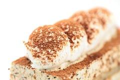 Cake isolated on white Royalty Free Stock Photo