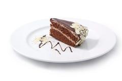 Cake. Isolated on white background Stock Photo