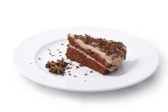 Cake. Isolated on white background Stock Image