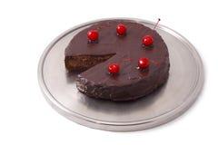 Cake. Isolated on white background Royalty Free Stock Photos