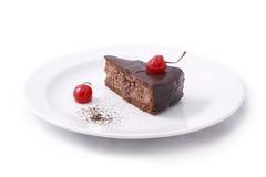 Cake. Isolated on white background Royalty Free Stock Image