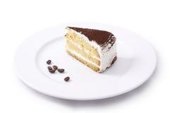 Cake. Isolated on white background Royalty Free Stock Photography