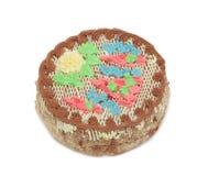 cake isolerade kiev Arkivfoto