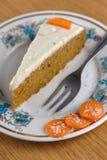 Cake IV van de wortel Stock Afbeeldingen