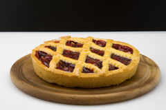 Cake with jam Royalty Free Stock Image