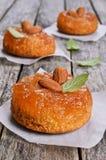 Cake with jam Royalty Free Stock Photo